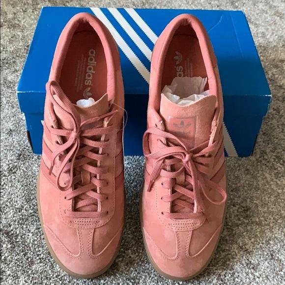 Adidas Hamburg trainers pink chalk Men sz11